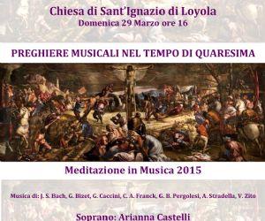 Musica di Bach, Bizet, Caccini, Franck, Pergolesi, Stradella, Zito