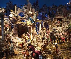 Al Quirinale il monumentale Presepe proveniente dalle collezioni del Museo Nazionale delle Arti e Tradizioni Popolari di Roma