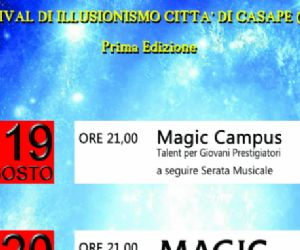 Festival: CASAPE MAGICA un paese d'incanto