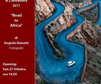 """Gallerie - """"Road to Africa"""" di Angiolo Manetti e """"Segni di Terra"""" di Francesca Romana Sansoni"""