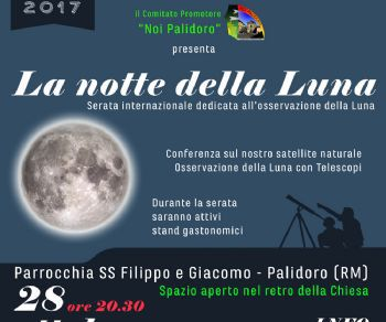 Serate: La notte Internazionale della Luna