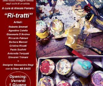 """Gallerie - """"Ri-Tratti"""" a cura di Alessia Ferraro"""