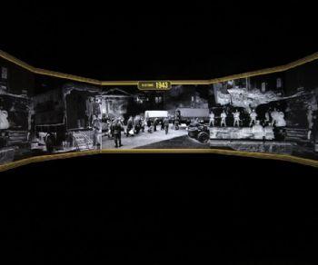 Un percorso espositivo progettato da Paco Lanciani in collaborazione con Istituto Luce, Enciclopedia Italiana e Rai Cultura