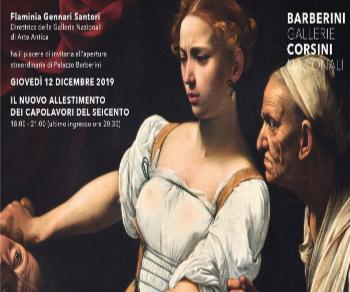 Mostre - Palazzo Barberini: il nuovo allestimento dei capolavori del seicento