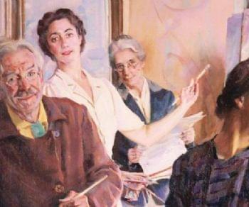 La mostra si propone di indagare il passaggio di stile dell'artista