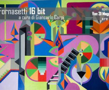 Mostre - 16 bit di Tancredi Fornasetti