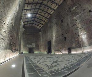 Le più estese terme di Roma risalenti al IV secolo d.C.