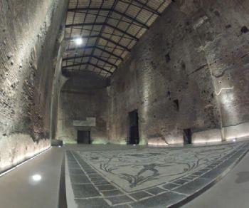 Visita al più esteso complesso termale di Roma, costruito nel IV secolo d.C.