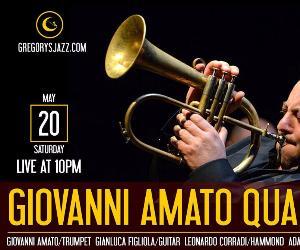 Locali: Giovanni Amato Quartet