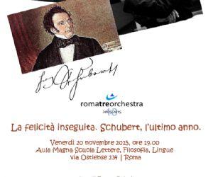 Il giornalista e musicologo Sandro Cappelletto ci racconta dell'ultimo anno del compositore Franz Schubert, scomparso a soli  31 anni