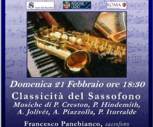 Il saxofono, con la sua voce, la sua eleganza e il suo fascino...si vestirà di classico!