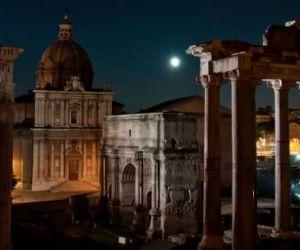 Per il Natale di Roma, la storia si colora