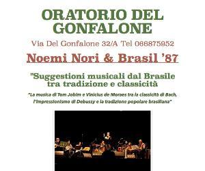 Concerti: Noemi Nori & Brasil '87