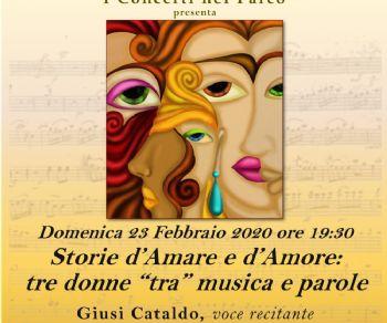 Concerti - Storie d'amare e d'amore