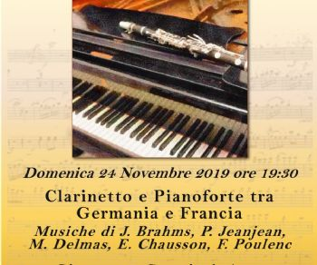 Concerti - Clarinetto e Pianoforte tra Germania e Francia
