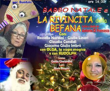 Spettacoli: Babbo Natale e la rivincita della Befana