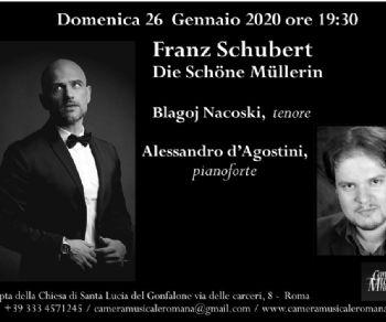 Concerti - Franz Schubert:  Die Schöne Müllerin