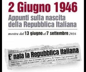 Appunti sulla nascita della Repubblica Italiana