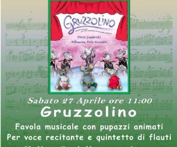 Bambini - Gruzzolino: favola musicale con pupazzi animati