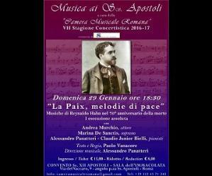 Concerti - La Paix, melodie di pace