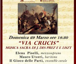 Musiche di J. Des Prez e F. Liszt