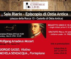 II appuntamento dedicato a Mozart