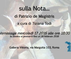 Mostra personale di Patrizio de Magistris