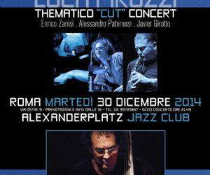 """Concerti: """"Luca Pirozzi Thematico 4et"""" Live il 30 Dicembre + Special Guest Javier Girotto"""