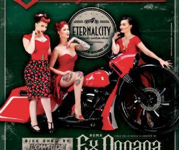 Fiere - Eternal City Motorcycle custom show
