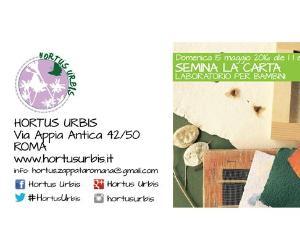 Attività di primavera all'aria aperta per grandi e piccini dell'Hortus Urbis