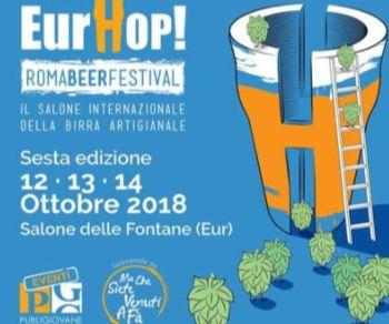 Sagre e degustazioni - Torna EurHop! Roma Beer Festival