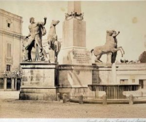 Foto romane dell'Ottocento a Palazzo Braschi