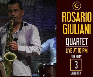 Concerti: Rosario Giuliani Quartet