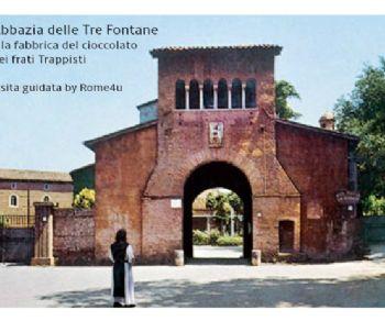 Visite guidate - L'Abbazia delle Tre Fontane e la fabbrica di cioccolato dei frati Trappisti
