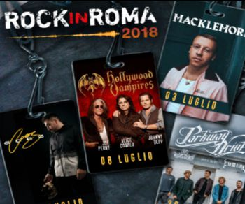 Rassegne - Postepay Sound Rock in Roma 2018