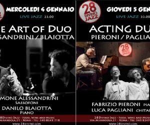 Concerti: 2017: la Sfida del Duo in Jazz