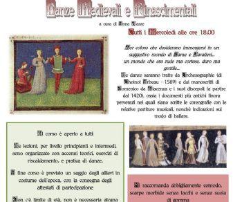 Attività - Corso di danze medievali e rinascimentali