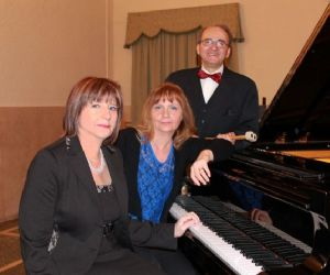 """Concerto del duo pianistico """"Flavia Bolognesi Maria Pia Milani"""", percussionista Egidio Conti"""