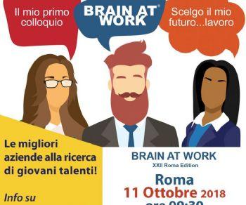 "Brain at Work ""Roma Edition"" - XXII Edizione"