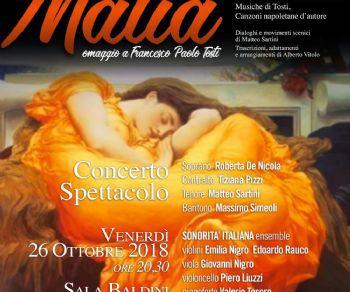 Concerti - Malia, Il Salotto Musicale fra 800 e 900