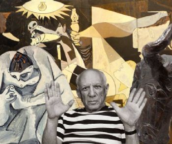 Dedicata al Picasso scultore, pensata come un viaggio attraverso i secoli