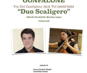 Martina Lopez e Alfredo Persichilli, violoncelli