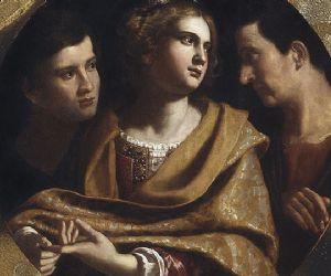 Un dipinto di Antiveduto della Grammatica dalla Pinacoteca di Brera