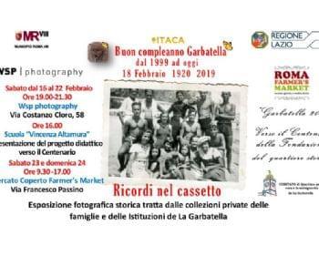 Gallerie - Buon Compleanno Garbatella 1920 - 2019