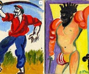 Mostre: I pittori del '900 e le carte da gioco