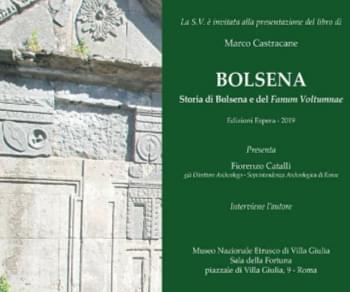 Locandina evento: Bolsena. Storia di Bolsena e del Fanum Voltumnae