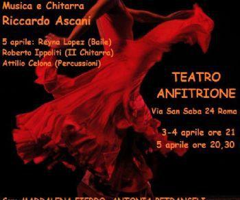 Un umanissimo Concerto Flamenco, composto di versi, musica, abbracci