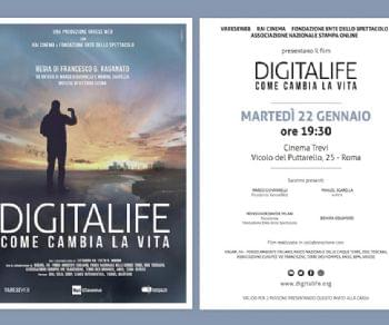Spettacoli - Il film Digitalife al cinema Trevi