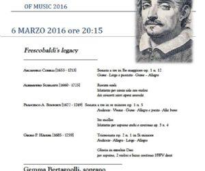 Chiude in bellezza la V edizione del Frescobaldi International Festival of Music
