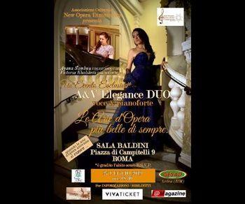 Con Ayana Sambuu mezzosoprano di coloratura e Victoria Khalilova pianoforte